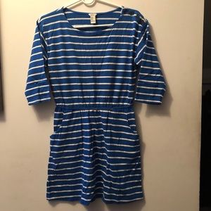 F21 Striped Cotton Dress